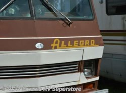 Used 1984  Tiffin Allegro 27' by Tiffin from Brown's RV Superstore in Mcbee, SC