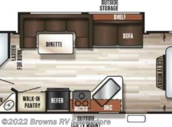 New 2018  Forest River Grey Wolf 26DBH by Forest River from Brown's RV Superstore in Mcbee, SC