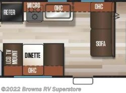 New 2018  Cherokee  26DJSE by Cherokee from Brown's RV Superstore in Mcbee, SC