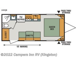 New 2018  K-Z Sportsmen Classic 160QB by K-Z from Campers Inn RV in Kingston, NH