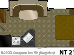 Used 2010  Heartland RV North Trail  21FBS by Heartland RV from Campers Inn RV in Kingston, NH