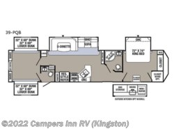 New 2018  Palomino Puma Destination 39-PQB by Palomino from Campers Inn RV in Kingston, NH