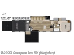 New 2018  Heartland RV Road Warrior 427 by Heartland RV from Campers Inn RV in Kingston, NH