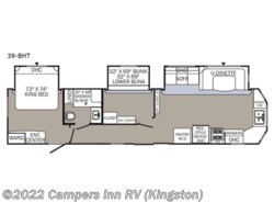 New 2018  Palomino Puma Destination 39-BHT by Palomino from Campers Inn RV in Kingston, NH