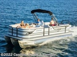 New 2017  Miscellaneous  Crest Pontoons Classic 230 SLR2  by Miscellaneous from Carolina Coach & Marine in Claremont, NC