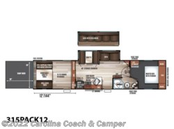 New 2018  Forest River Cherokee Wolf Pack 315PACK12 by Forest River from Carolina Coach & Marine in Claremont, NC