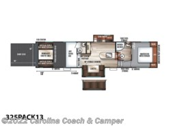 New 2019  Forest River Cherokee Wolf Pack 325PACK13 by Forest River from Carolina Coach & Marine in Claremont, NC