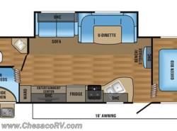 New 2017  Jayco Jay Flight SLX 284BHSW by Jayco from Chesaco RV in Joppa, MD