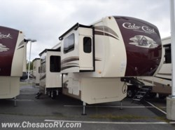 New 2018  Forest River Cedar Creek 38FLX by Forest River from Chesaco RV in Joppa, MD