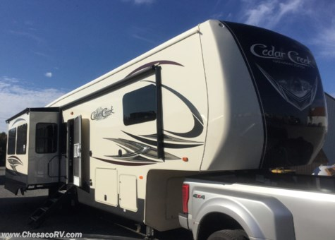 2019 Forest River Cedar Creek Hathaway Edition 36CK2