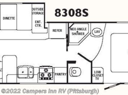 Used 2007  R-Vision  Trail Lite 8308S by R-Vision from Campers Inn RV in Ellwood City, PA