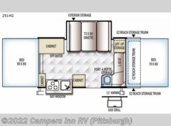 New 2017  Forest River Rockwood Premier 2514G by Forest River from Campers Inn RV in Ellwood City, PA