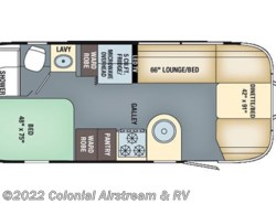 Used 2017  Airstream International Serenity 23D by Airstream from Colonial Airstream & RV in Lakewood, NJ