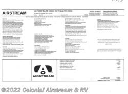New 2019 Airstream Interstate Lounge EXT AS J available in Lakewood, New Jersey