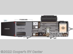New 2016  Keystone Impact 28V by Keystone from Cooper's RV Center in Murrysville, PA