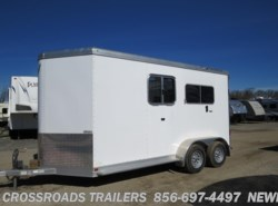 Used 2013  Featherlite  9407 Perfect Fit  BP W/DR WALKTHRU DOOR by Featherlite from Crossroads Trailer Sales, Inc. in Newfield, NJ