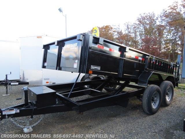 2019 Homesteader dump trailers