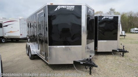 2019 Homesteader Intrepid 7x16 Enclosed Cargo Trailer