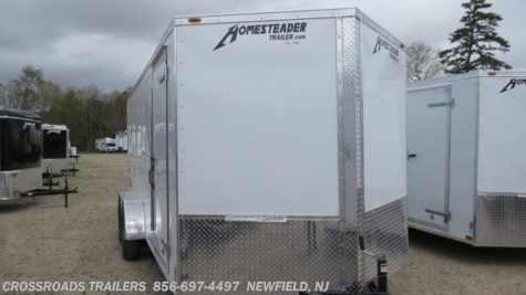 2019 Homesteader Intrepid 7x14 Enclosed Cargo Trailer