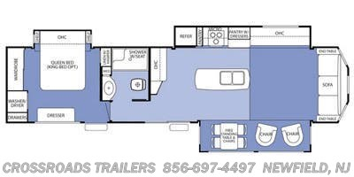 2015 Forest River Cedar Creek Cottage 40CCK - Stock #2955