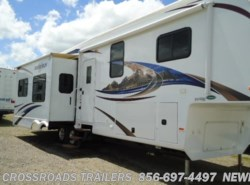 Used 2011  Heartland RV Bighorn BH 3410RE by Heartland RV from Crossroads Trailer Sales, Inc. in Newfield, NJ